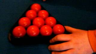How To Set Up Snooker