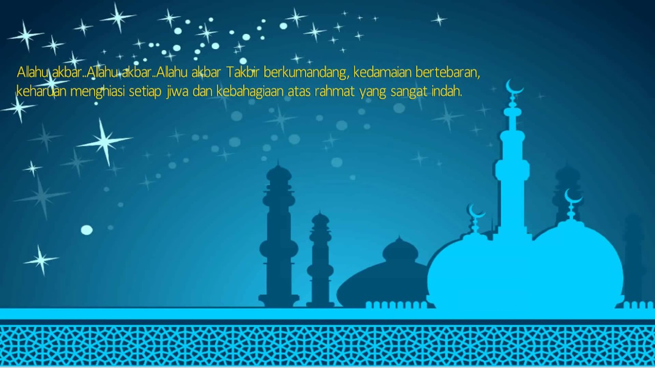 Image Result For Ucapan Idul Fitri Youtube