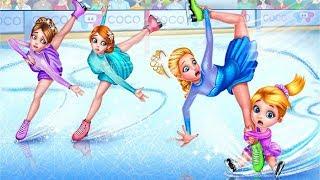 Ice Skating Ballerina Dance Challenge Arena - Princess Skate & Makeup Game for Girls