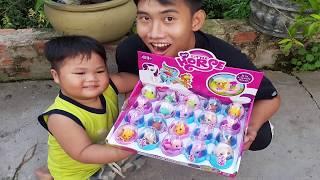 trò chơi đi tìm và học tên các con vật nhỏ ❤ chichi toysreview tv ❤ đồ chơi trẻ em baby doli