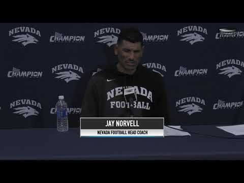 Nevada Football Post Game Press Conference- Hawai'i