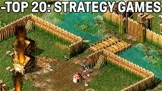 Top 20 Strategy Games PC - No Commentary