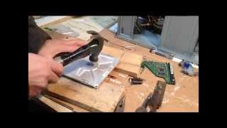 Hack an old hard drive for parts
