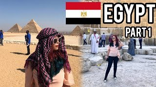 🇪🇬 EGYPT   Cairo, Egyptian pyramids, Great Sphinx of Giza, Nile River, etc (HOLY LAND VLOG PART 1)