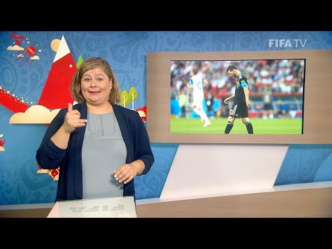 FIFA WC 2018 - ARG vs. ISL – for Deaf and Hard of Hearing - International Sign