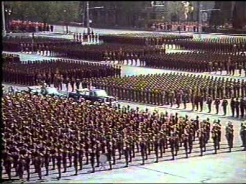 """The 60th Anniversary of the Korean People's Army""  (April 25, 1992)"