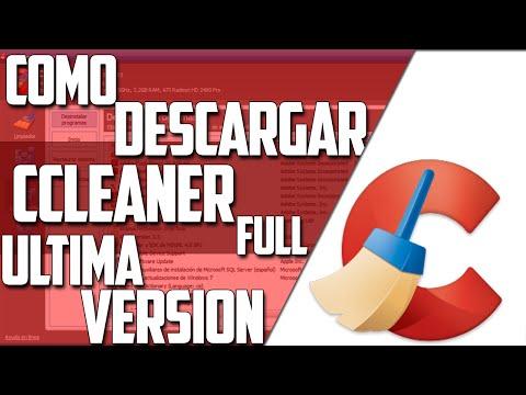 Descargar ccleaner gratis ultima version para windows 7