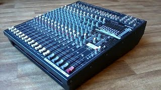 Yamaha EMX 5016CF - Обзор (студия Music-Bank)(без цензуры)(после рюмочки)