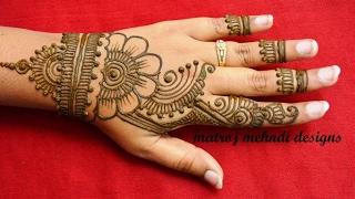 Simple Mehndi Mehndi Design : Stylish simple mehndi henna designs for hands beginners:mehndi