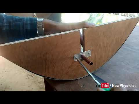 How to Make Solar Water Heater 100°C Using Parabolic Trough