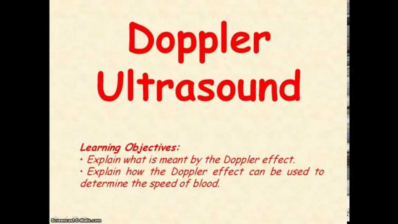 Ppt on doppler effect.