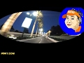 V#407 HSKY Driving at Night Universal Studios Hollywood Driveway USH 2017 HSKYART