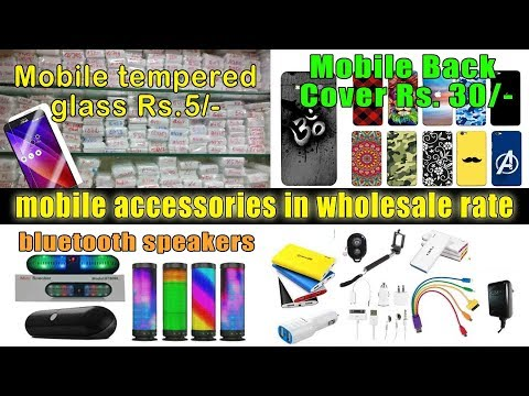 Mobile Accessories in Wholesale Price !! Cheapest Market of Mumbai !! City Centre Mumbai Central