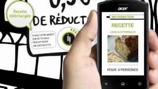 Acer Liquid Express : L'information avec cityzi