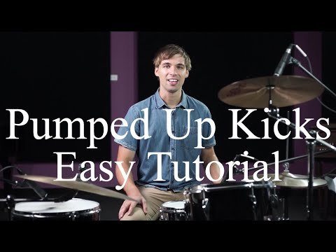 How To Play Pumped Up Kicks By Foster The People - Drumming Made Simple Episode #36