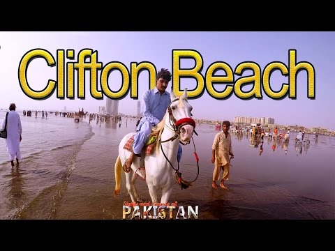 Clifton Beach Karachi Travel Video - 4K quality