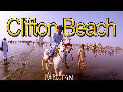 Clifton Beach Karachi Travel Video - 4K quality