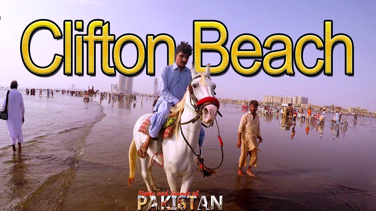 Clifton Beach Karachi Travel Video - 4K Ultra HD | #Cliftonbeach
