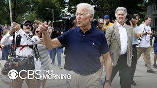 New poll puts Biden, Warren, Harris and Sanders at the top of 2020 field