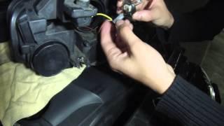 Audi A4 b8 : Changer une ampoule de feux de croisement
