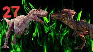 МЕГАЛОЗАВР Vs НАНОТИРАННУСА! Динозавр vs динозавра. БОЙ №27.