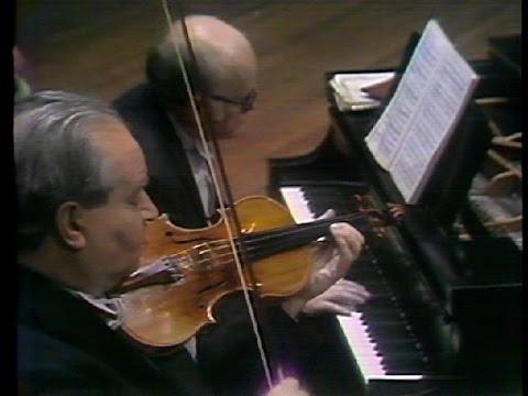 David Oistrakh & Sviatoslav Richter - Beethoven & Brahms Sonatas (live In New York, 1970)
