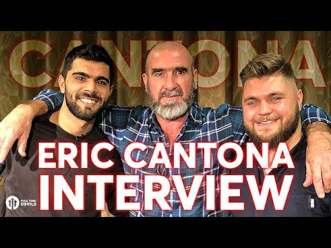 Eric Cantona Interview; Mourinho, Evra & Management!