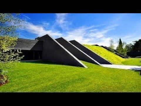 Ultra-Modern Futuristic Concrete Luxury Residence in Pozuelo de Alarcon, Madrid, Spain (by