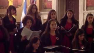 HALLELUJAH (Leonard Cohen) CORO JUVENIL FEMENINO DEL ISEAM DOMINGO ZIPOLI
