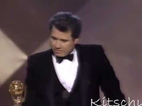 John Larroquette wins 1987 Emmy for Night Court