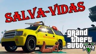 GTA V: Salva-vidas na praia