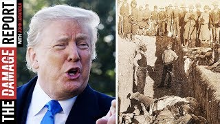 Trump Invokes Massacres To Mock Elizabeth Warren