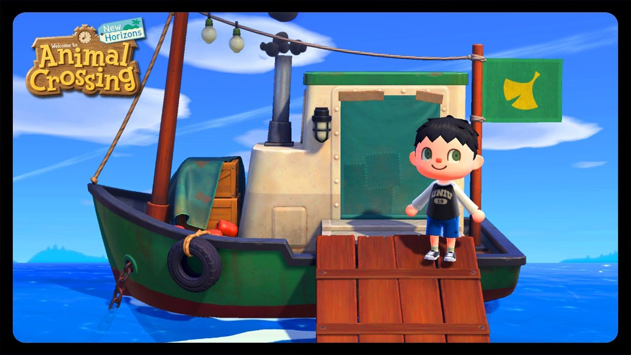 How To Get In Redd S Art Boat In Animal Crossing New Horizons Youtube