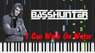 Basshunter - I Can Walk On Water [Synthesia Tutorial]