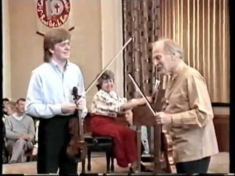 Master Class with Yehudi Menuhin!! Part 1/3  VTS_09_1.VOB