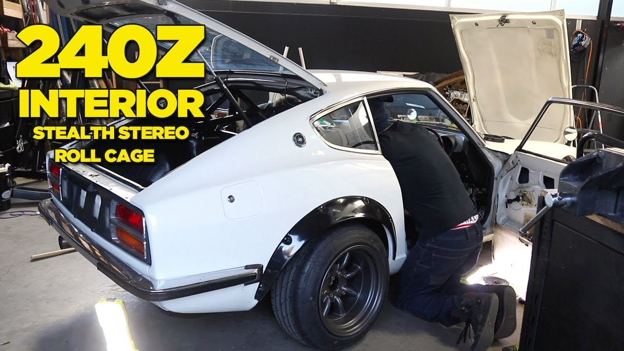 rb26-240z-roll-cage-stealthy-hidden-stereo