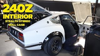 Roll cage plus super stealthy hidden stereo install! With the RB26 ...