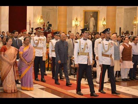 President Kovind Presents Gallantry Awards