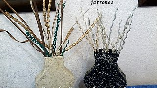 Gambar cover ADORNOS PARA JARRONES. DIY. Decorations for vases