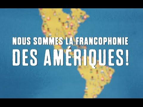 La francophonie des Amériques