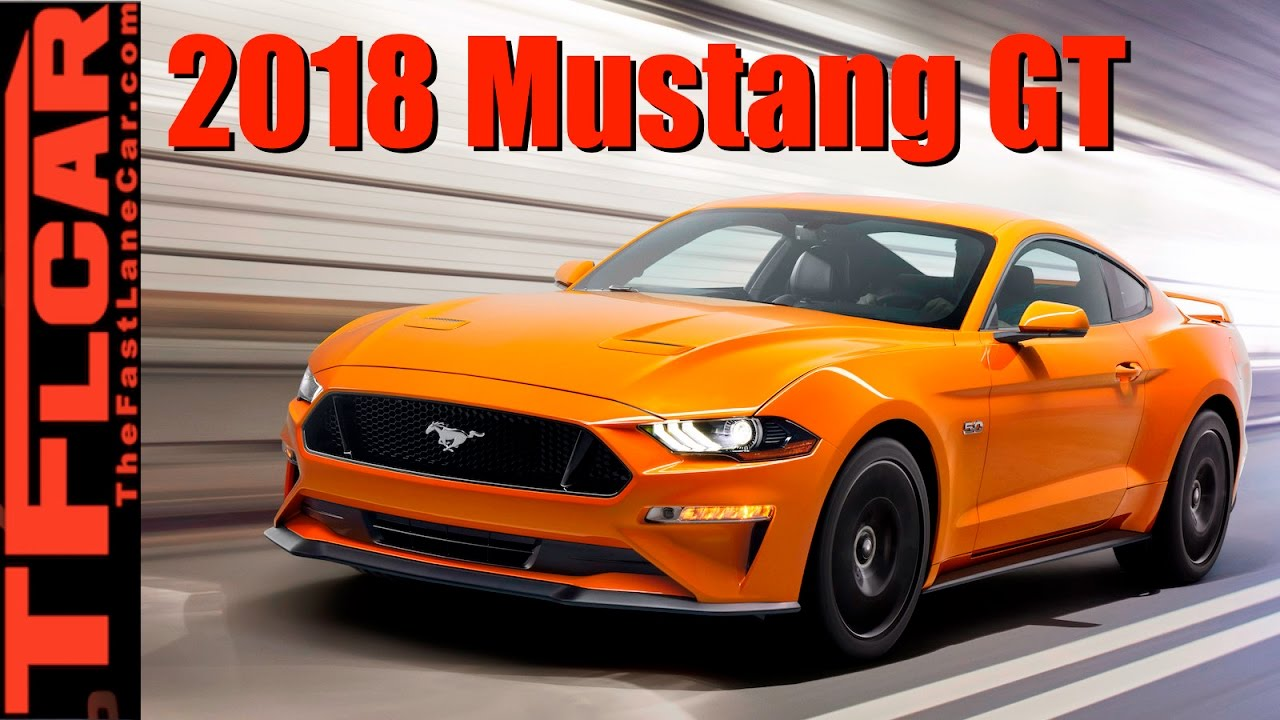 2018 Ford Mustang GT V8 & 10-Speed Automatic: Everythin... | Doovi