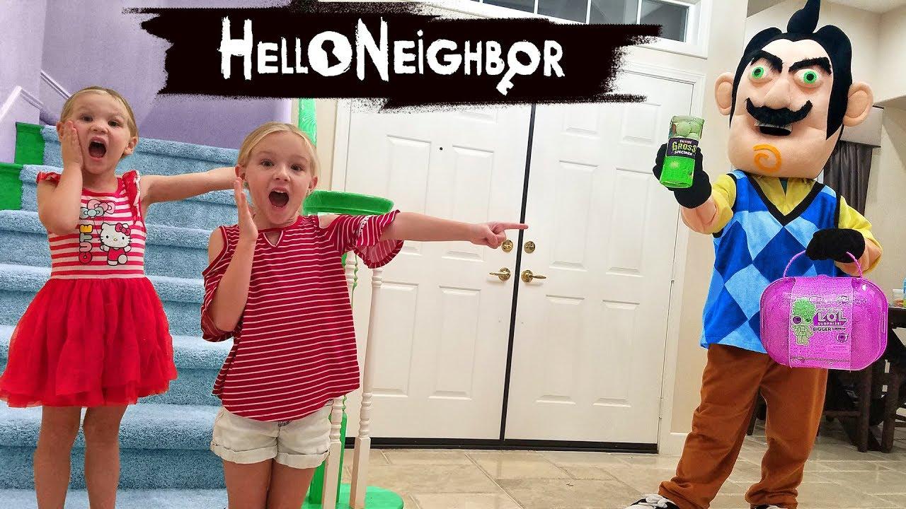 Hello Neighbor in Real Life! Gross Smashers & Bigger LOL ...