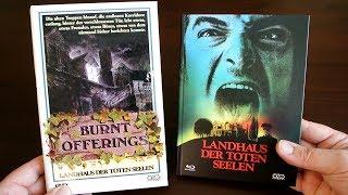 LANDHAUS DER TOTEN SEELEN Blu-Ray/DVD Mediabook NSM Records Oliver Reed Karen Black Burnt Offerings