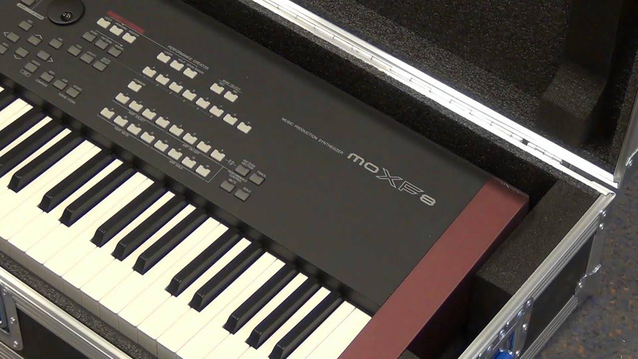 Capro flight case for yamaha moxf8 workstation youtube for Yamaha moxf8 88