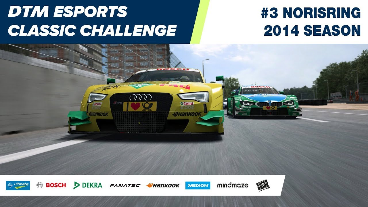 #DTMEsports Classic Challenge – Norisring 2014 (Round 3)