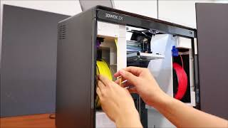 Sindoh 3DWOX 2X - 3rd party filaments setup Tutorial  Shop 3D Printers at  wow3Dprinter com