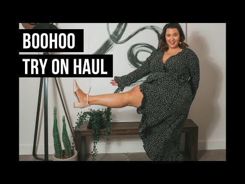 PLUS SIZE FASHION TRY ON HAUL | Newness From BOOHOO | Sometimes Glam