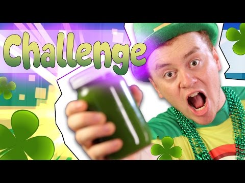 THE ST. PATRICK'S DAY SMOOTHIE CHALLENGE! 🍀 | Office Antics