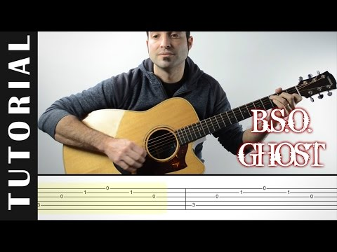How to play Unchained Melody I B.S.O. Ghost I  EASY Tutorial CHORDS, TABS and, lyrics