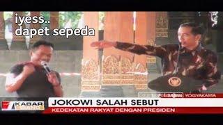 """NGAKAK!! Jokowi Tanya Nama Ikan, Warga Sebut """"Kecebong"""""""